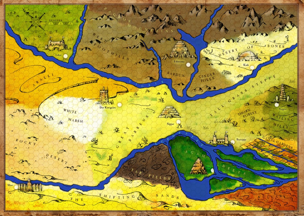 ancient mesopotamia map rough v6 final color 1200