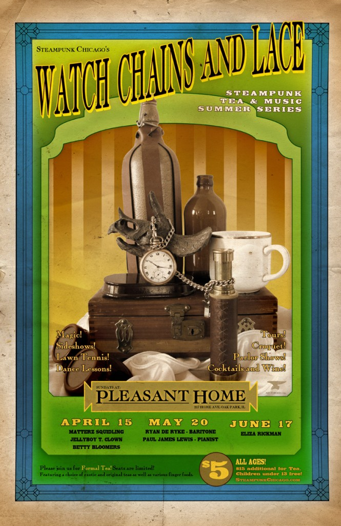 Steampunk Poster Design Chicago